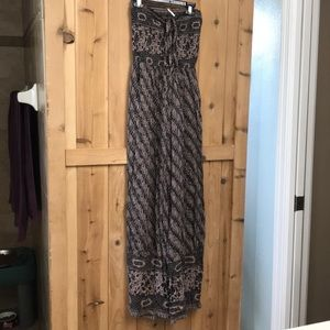 Free People strapless romper!